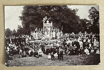 Empire Day Abingdon Berkshire Real Photographic Postcard • 18£