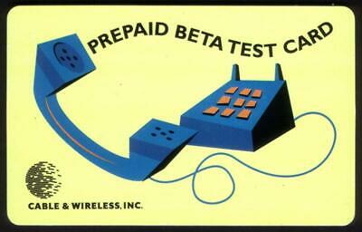 $14.65 • Buy 5m Cable & Wireless Enhanced Services Platform Beta Test Card Phone Card