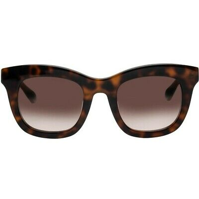 AU89 • Buy OROTON Isabelle Sunglasses Tortoise Shell Frames Black Arms NEW With Tags & Case