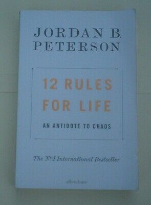 AU10 • Buy 12 Rules For Life: An Antidote To Chaos, By Jordan B. Peterson