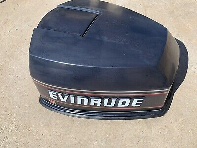 AU262.17 • Buy Evinrude Johnson 90 HP V4 OEM Motor Cowl Engine Cover Top Cowling Hood 90's