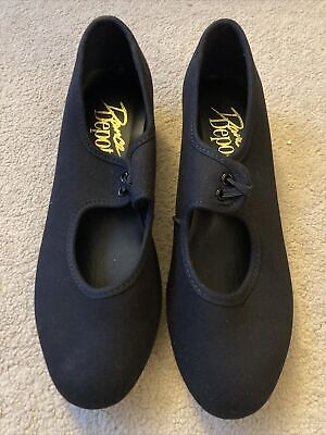 Brand New Dance Depot Black Tap Shoes Size 3 • 0.99£