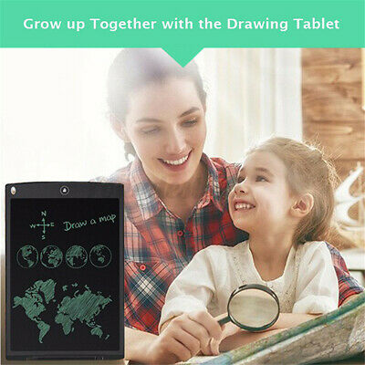 AU20.56 • Buy 12 Inch LCD Writing Drawing Tablet 3 In 1 Notepad Message Board Handwriting