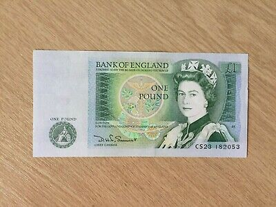 Bank Of England Old One Pound Note • 1.99£