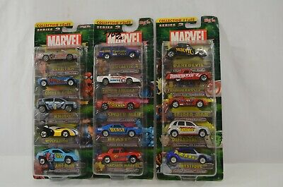 $ CDN36.29 • Buy Maisto Marvel Series 2 5-Pack Diecast Car Sets 1 2 5 Lot Spiderman Daredevil ++