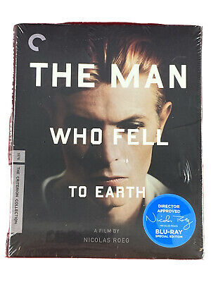 The Man Who Fell To Earth (Blu-ray Criterion Collection) BRAND NEW David Bowie • 181.24£