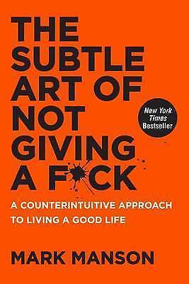 AU10 • Buy The Subtle Art Of Not Giving A F*Ck: A Counterintuitive Approach To Living A...