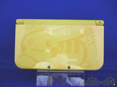 $239.99 • Buy New NINTENDO 3DS LL Pikachu Yellow Pokemon Limited Edition Console Japan Model