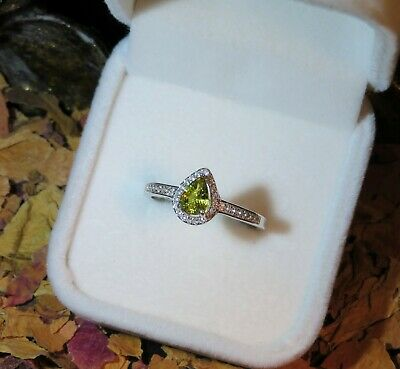 AU299.95 • Buy Certified Natural Untreated Australian Canary Yellow Sapphire Silver Ring 9US 🌟