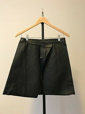 AU70 • Buy Brand New Sir The Label Leather Skirt In Black: Size 0