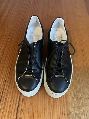 AU30 • Buy Italian Leather Platform Lace Up Sneakers