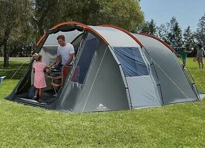 Ozark Trail Orange And Grey Tunnel Camping Tent 6 Person, Used Once.. • 89£