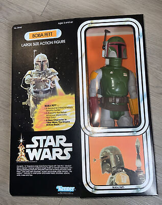 $ CDN267.16 • Buy Star Wars BOBA FETT Vintage 12 Inch Action Figure Kenner 1978, Repro Box.Awesome