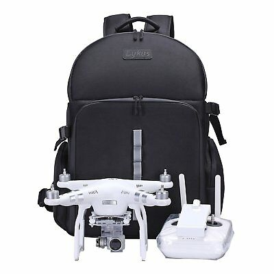 AU426.14 • Buy Lykus Backpack For Drone Duty To The Water Dji Phantom 3, Phantom 4/4 Pro New