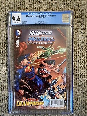 $49.99 • Buy DC Universe Vs. Masters Of The Universe #1 CGC 9.6.. New Slab