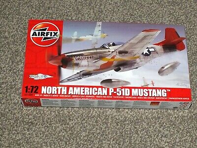 Airfix A01004 North American P-51D Mustang 1:72 Scale Series 1 Plastic Model Kit • 7.50£
