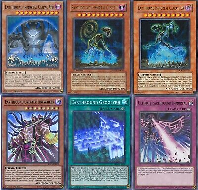 Yugioh Earthbound Immortal 2021 Deck -  Cusillu - Ccarayhua - 55 Cards • 57.58£
