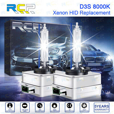 AU24.72 • Buy D3S D3R D3C 35W 8000K HID Headlights Bulbs Lamps Blue White Replacement X 2 RCP