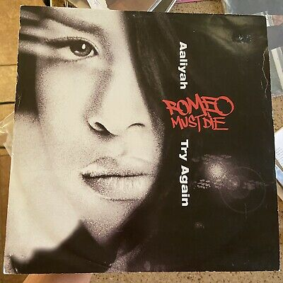 """£43.72 • Buy Aaliyah Haughton 12"""" Vinyl Record Mix Remix Try Again Soundtrack R&B Hip Hop '00"""