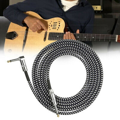 $ CDN19.83 • Buy 10ft NOISELESS Electric Guitar Bass Cable Pedal AMP Cord 1/4  Universal