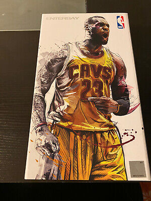 $381.43 • Buy ENTERBAY Lebron James 1/9 Scale Cleveland Cavs