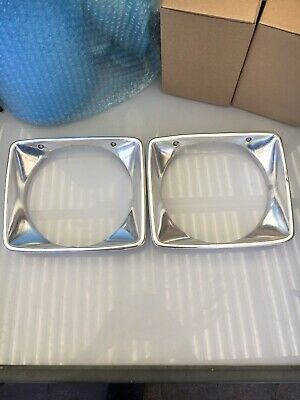 AU39.99 • Buy HOLDEN HJ HX HZ Kingswood Monaro Head Light Surrounds Genuine GM Nice & CLEAN