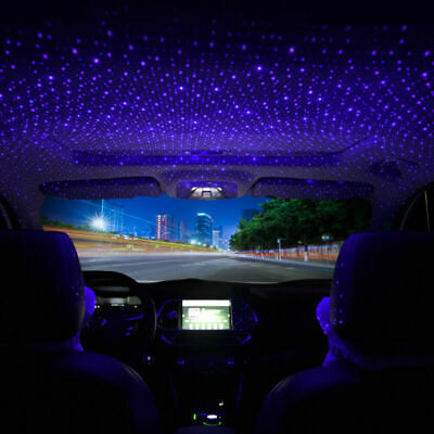 £4.98 • Buy Car Accessories Interior USB Atmosphere Star Sky Lamp Ambient Star Night Lights