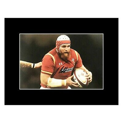 £69.99 • Buy Signed Jake Ball Photo Display - Wales Rugby Icon +COA