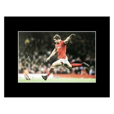 £119.99 • Buy Leigh Halfpenny Autograph - Signed Wales Rugby Photo Display +COA