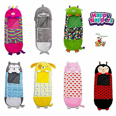AU61.99 • Buy 2021 Large Size Happy Nappers Sleeping Bag Kids Play Pillow Unicorn Xmas Gifts