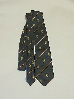 £26.99 • Buy Collectable Breweriana Advertising GUINNESS Neck Tie Vintage Pub Ale Bar Harp