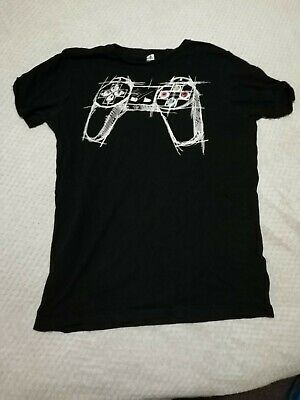 PlayStation Controller Mans T-shirt Size M • 1.20£