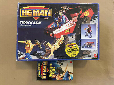 $0.99 • Buy 1989 MOTU Masters Of The Universe The New Adventures Of He-Man TERROCLAW W/box