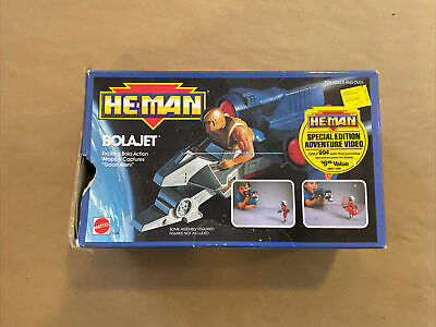 $0.99 • Buy 1989 MOTU He-Man New Adventures BOLAJET Complete W/Box Masters Of The Universe