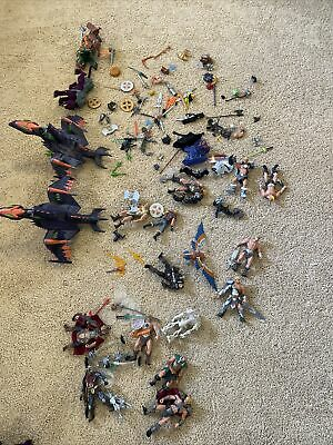 $1.25 • Buy 200x MOTU He-Man Masters Of The Universe Large Loose Lot Of Figures & Vehicles
