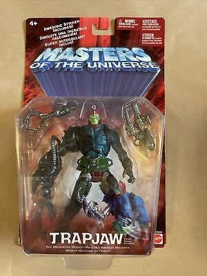 $0.99 • Buy 200x MOTU Masters Of The Universe Trapjaw Mattel 2002 NIP