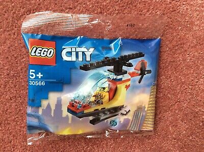£3.99 • Buy Lego City Fire Helicopter Polybag 30566 - New/sealed