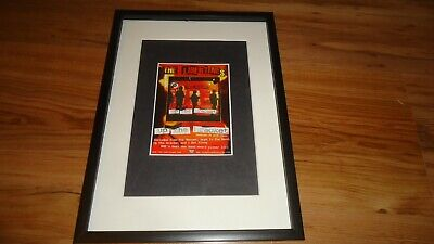 £12 • Buy THE LIBERTINES Up The Bracket-Framed Original Advert