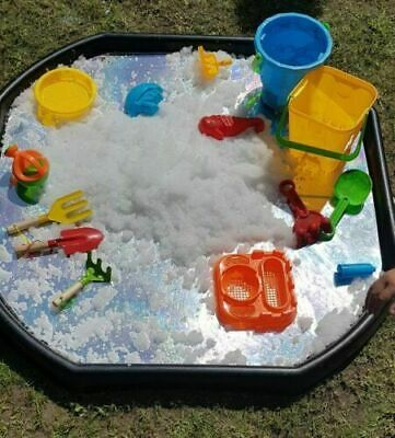 Cement Mixing Tray 70cm X 70cm Plastic Assorted Tuff Tray Kids Messy Activities • 32.99£