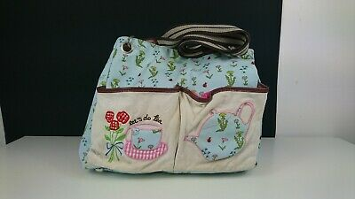 £12.99 • Buy Pink Lining Yummy Mummy Changing Bag Floral  Two For Tea  Print