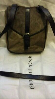 £15 • Buy Gharani Strok Cross Body Ladies Bag With Dust Bag Sold In Aid Of Catwel Charity