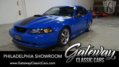$26000 • Buy 2003 Ford Mustang Mach 1 Azure Blue 2003 Ford Mustang  4.6L V8     5 Speed Manual Available Now!