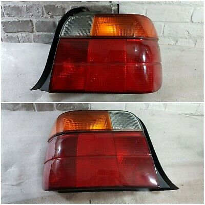 $100 • Buy OEM Genuine Bmw 3 Series E36 Compact Rear Back Tail Lamps Lights