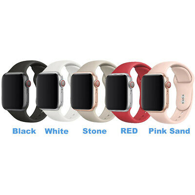 $ CDN2.61 • Buy 38/40/42/44mm Sport IWatch Silicone Band Strap For Apple Watch Series 6 5 4 3 SE