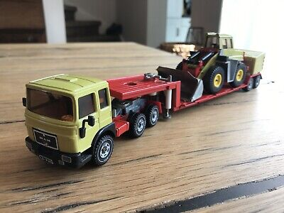 £68.70 • Buy Siku Man Truck With Low Loader And Digger