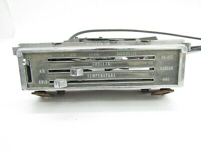 AU63.56 • Buy 1967-72 Chevy/GMC Pickup 65-66 Impala HEATER A/C TEMPERATURE CONTROLS W/ Cables