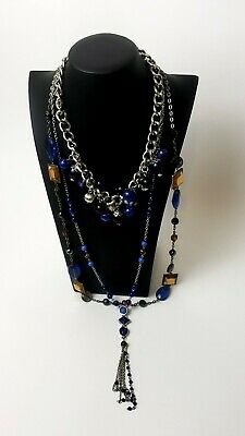 $ CDN7.51 • Buy Jewelry Necklace Lot Fashion & Costume Jules B. Lia Sophia NY&C