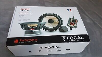 Focal Expert PS165F 6.5  2-Way Flax Cone Component Car Speakers,  • 150£