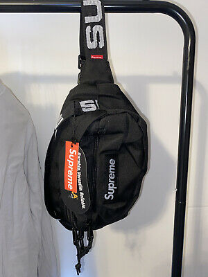 $ CDN43.21 • Buy Supreme Waist/Shoulder/Bum Bag SS18 • Brand New With Tags