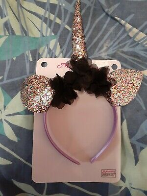 AU4 • Buy Girl Unicorn Headband With Glitter